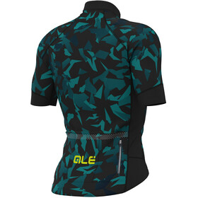 Alé Cycling Graphics PRR Glass SS Jersey Men black petr-turquise